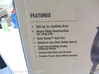 Tabletop or Side Fire Box Grill