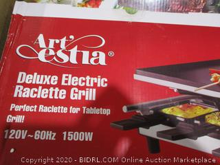 Deluxe electric Raclette Grill