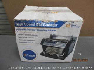 High Speed Bill Counter