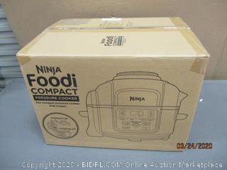 Ninja Foodi Compact Pressure Cooker  Powers On