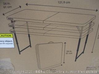 4-Foot Adjustable Table