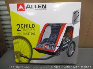 Allen 2 Child Trailer