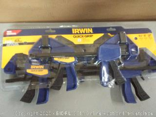 Irwin Quick Grip 6 piece clamp set
