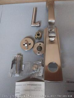 Baldwin full dummy 150 satin nickel handle set