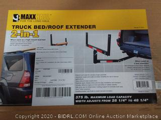 MaxxHaul 70231 Hitch Mount Truck Bed Extender (For Ladder