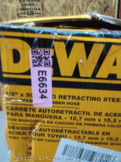 "DeWalt DXCM024-0344 Double Arm Hose Reel with 1/2"" x 50"