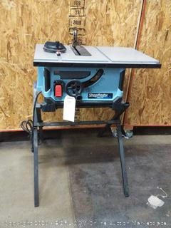 Shopmaster Delta table saw (Powers On)(small crack in the back)