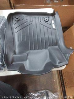 MAXLINER Floor Mats 2 Row Liner Set Black for 2014-2018 Toyota Tundra CrewMax Cab (with Coverage Under 2nd Row Seat)