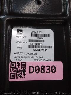 Replace® GM1228119 - Engine Splash Shield