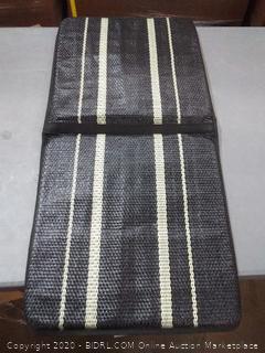 Kool Kooshion Standard Size Ventilated Seat Cushion, Black
