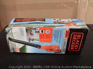 Black & Decker 20V lithium-ion cordless leaf blower