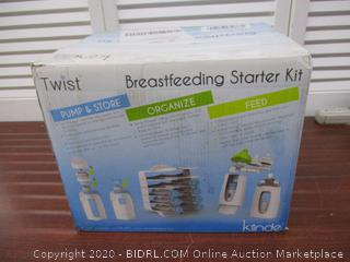 Kiinde Twist Pouch Breast Milk Storage Bag Feeding System Starter Kit