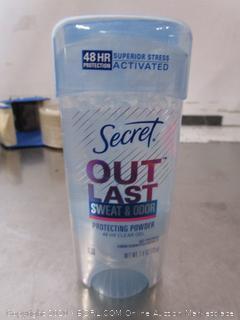 Secret Out Last Deodorant