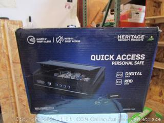 Heritage Quick Access Personal Safe