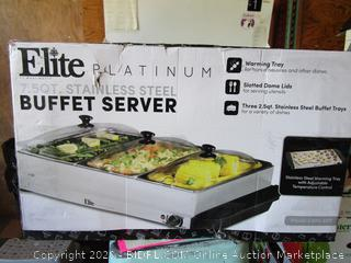 Elite Platinum Buffet Server