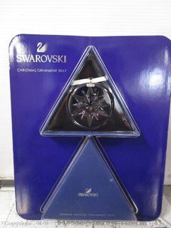 Swarovski Crystal Snowflake Ornament