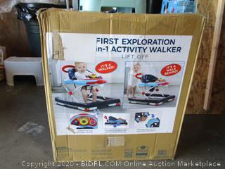 First Exploration Activity Walker