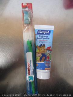 Kids Toothbrush & Orajel