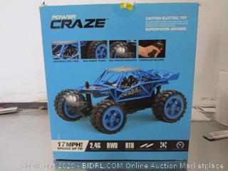 Power Craze RC Car - Blue