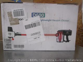 D600 Upright Vaccuum