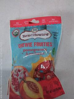 Torie & Howard Chewie fruities pomegranate and nectarine (2 bags)