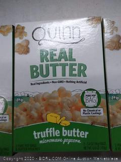 QUINN Real popcorn truflle butter 2 Pack
