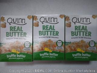QUINN Real popcorn truflle butter 2 Pack