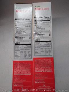Kashi Go Lean original cereal 2 boxes