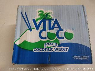 Vita Coco Coconut Water Pure 16.9 Ounce (Pack Of 12)