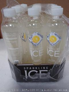 Sparkling Ice zero sugar with antioxidants and vitamin classic lemonade sparkling water 12 pack