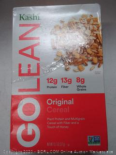 Kashi Go Lean original cereal 2 boxes