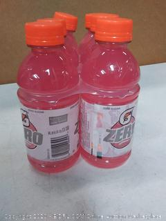 Gatorade zero Berry flavor six pack