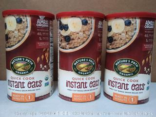 Country Choice Organic Oven Toasted Oats Quick (3 pack)
