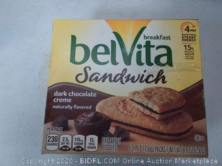 Breakfast Chocolate Belvita Dark Sandwich Nabisco (2 boxes)