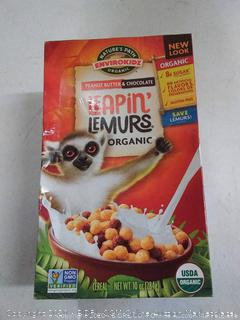 Nature's Path organic peanut butter and chocolate leapin lemurs cereal (2 boxes)