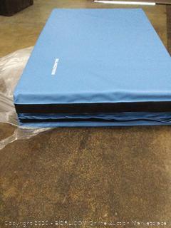 BalanceFrom GoGym All-Purpose 4'x10'x2 Extra Thick High Density Anti-Tear Gymnastics Gym Folding Exercise Aerobics Mats(Retails $99)