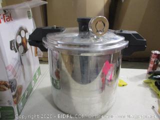 T fal- Aluminum Canner & Pressure Cooker- 22 Qt