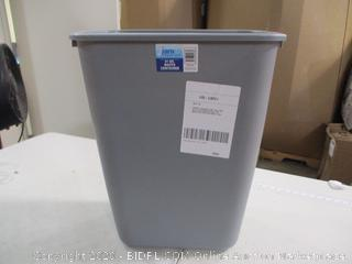 janico- 41 QT Waste Container- Gray