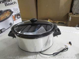 Hamilton Beach- Stay Or Go- 6 qt Slow Cooker