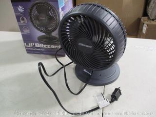 Holmes- Lil' Blizzard- Oscillating Power Fan (Powers On)