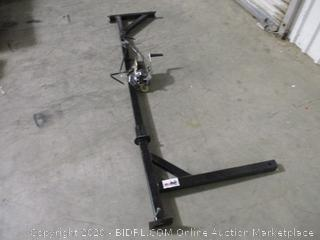 Kill Shot Deer-Hoist-Swivel Deluxe Hitch-Mounted Deer Hoist with Swivel & Gambrel - 500 lb. Capacity
