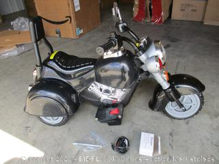 Harley Style Wild Child- Battery Powered Motorcycle Tricycle