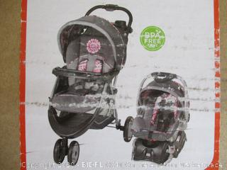 Babytrend- EZ Ride 5 Travel System- Paisley (Factory Sealed, Opened For Picturing)
