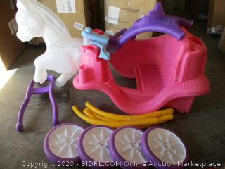 Little Tikes- Princess Horse & Carriage