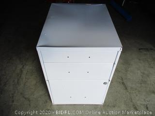 3 Drawer File Cabinet (damage, please see pictures)