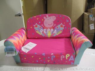 Spin Master- Marshmellow- Children's 2 in 1 Flip Open Sofa- Peppa Pig