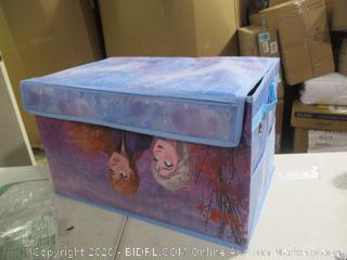 Disney- Frozen 2- Collapsible Toy Storage Trunk