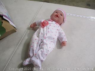 JC Toys- La Baby- Soft Body Play Doll