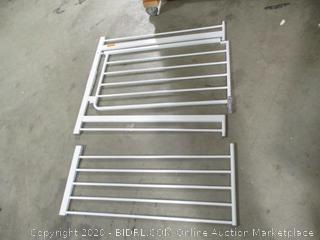 Regalo- Easy Open- Extra Wide Metal Walk Through Safety Gate