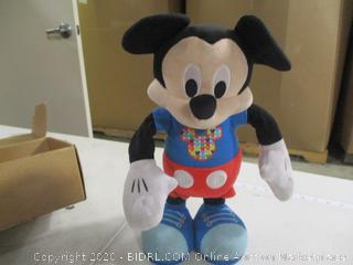 Just Play- Disney Mickey Mouse- Hot Dog Dance Break Mickey Toy